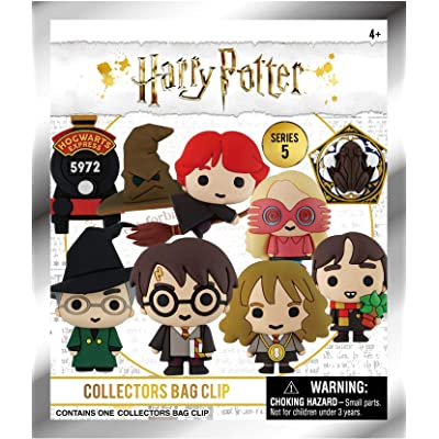 Harry Potter Series 5 - 3D Foam Bag Clip in Blind Bag: Toys & Games