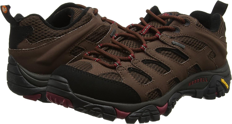 Merrell Moab 2 Lisse Gore-Tex Homme Chaussures de marche-Marron
