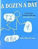 A Dozen a Day Volume 1 (Bleu) - Piano