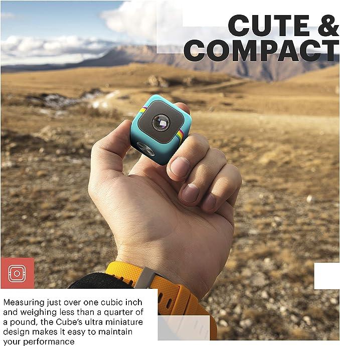 Polaroid 宝丽来 Cube 1080P 影立方运动摄像机 3折$29.99 海淘转运到手约¥226