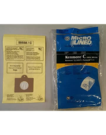 20 Kenmore Style C & Style Q 5055 50557 50558 Micro Lined Canister Vacuum Bags.