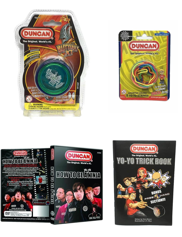 Amazon.com: Duncan – Yoyó Intermedio Yoyó Yoyo Kit (4 ...