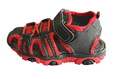abdou-sandale-rouge et noire-garçon (21)