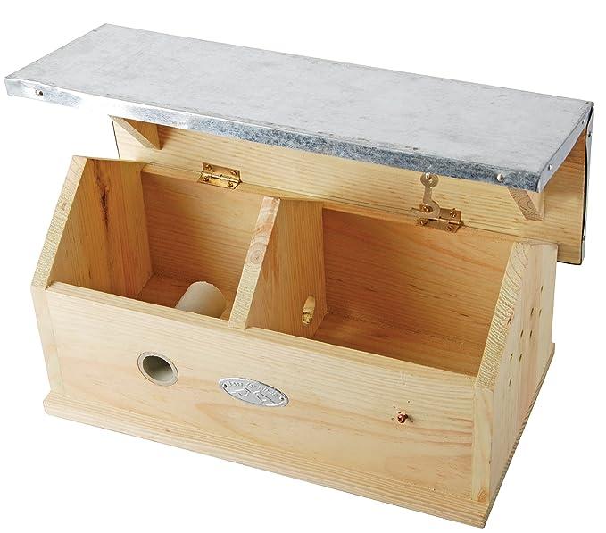 Hummelkasten Bestseller - Esschert Design WA08 1 x Hummel Haus