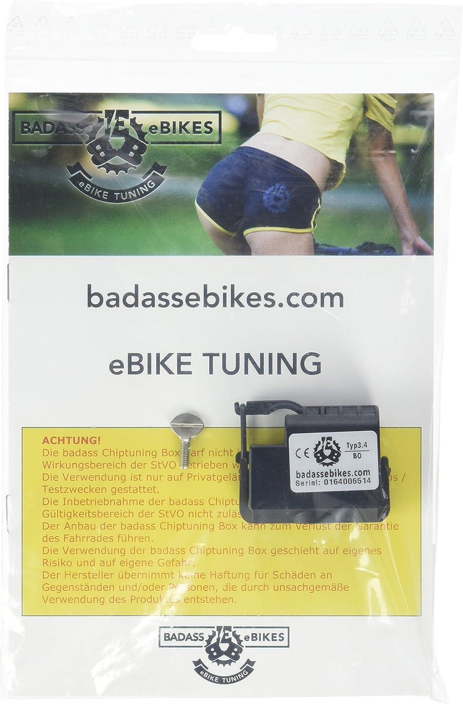 badass Typ3.4 Bosch Dispositivo para Bicicleta eléctrica, Negro ...