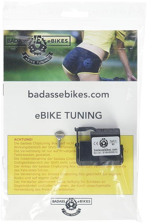 badass Typ3.4 Bosch Dispositivo para Bicicleta eléctrica, Negro, tamaño único
