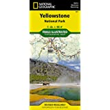 YELLOWSTONE NATIONAL PARK  1/120.000