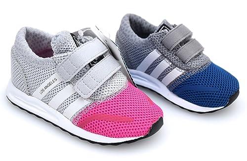 ADIDAS Zapatillas Deportivas para NIÑO Y NIÑA S74884 - S74885 LOS Angeles CF I: Amazon.es: Zapatos y complementos