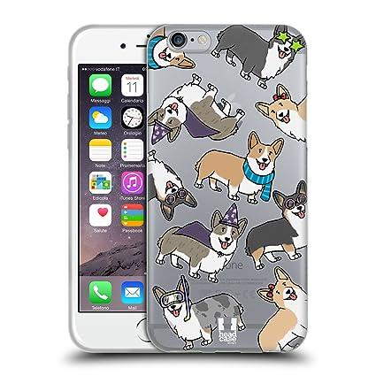 Amazon.com: Head Case Designs Perro raza patrones – Funda ...