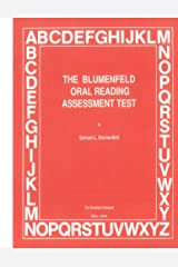 The Blumenfeld Oral Reading Assessment Test Kindle Edition