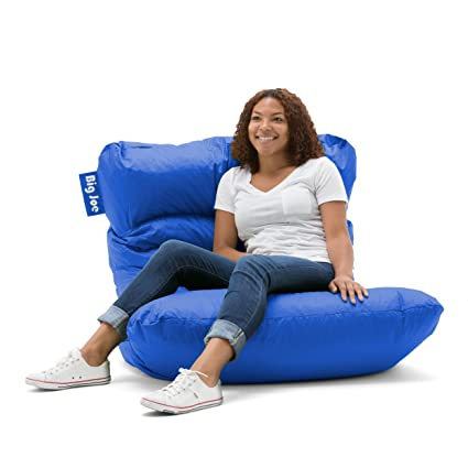 Ordinaire Big Joe Roma Bean Bag Chair, Sapphire