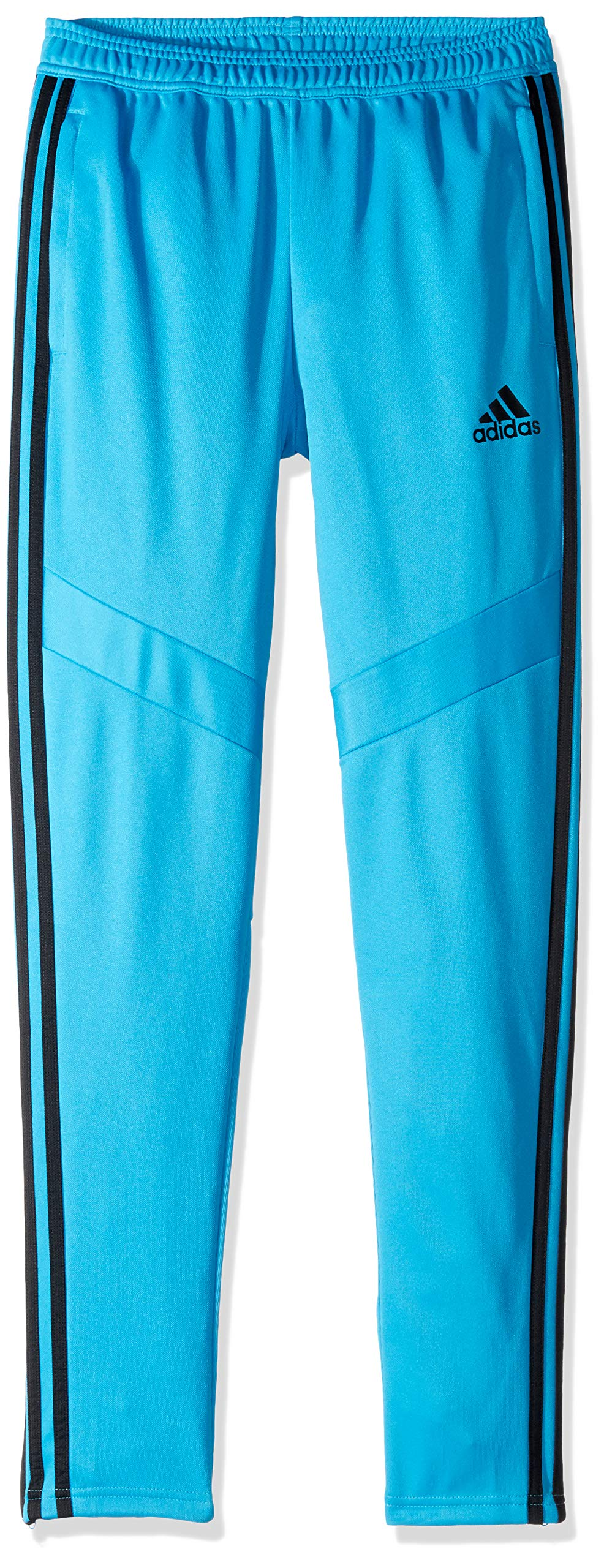 adidas Youth Tiro19 Youth Training Pants, Shock Cyan/Black, XX-Small