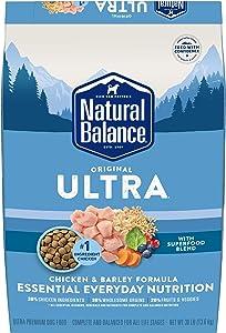 Natural Balance Original Ultra Dry Dog Food, Chicken & Barley, 30 Pounds