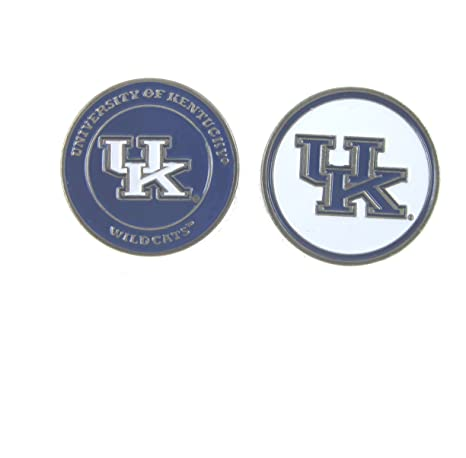a8e9aee8084 Image Unavailable. Image not available for. Color  Kentucky Wildcats Double- Sided UK Golf Ball Marker