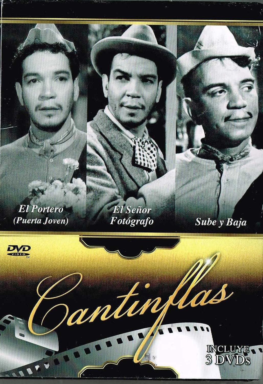 Amazon Com Cantinflas 3 Peliculas El Portero Puerta Joven