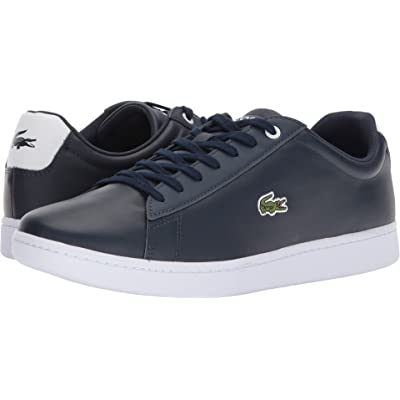 Lacoste Mens Hydez 118 1 P Navy/White 10 M | Fashion Sneakers