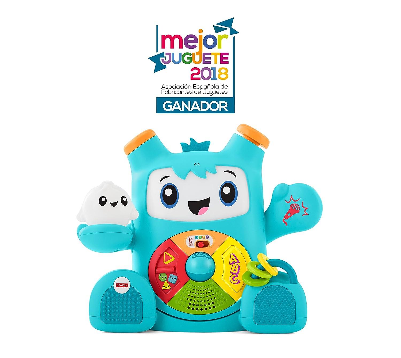 753ddbebb Fisher-Price Rocky Roquero, juguete electrónico bebé +6 meses (Mattel  FXD05): Amazon.es: Juguetes y juegos