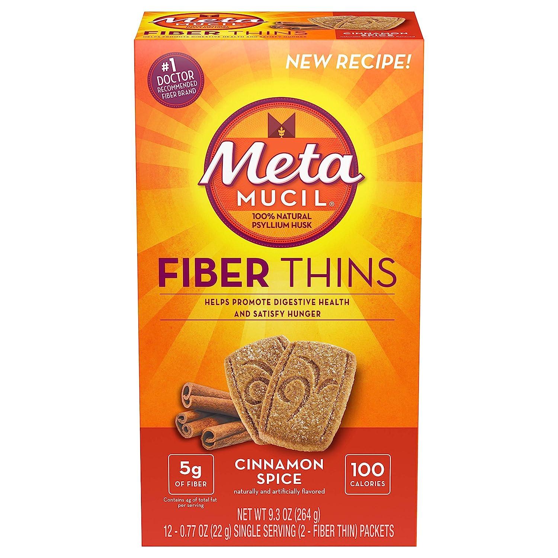 Metamucil Fiber Thins Size 24ct (Pack of 6)