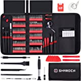 SHARDEN Precision Screwdriver Set 140 in 1 Magnetic Driver Kit Professional Repair Tool Kit with Portable Bag for iPhone…
