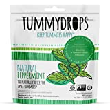 Natural Peppermint Tummydrops (Resealable Bag of 33 Individually Wrapped Drops) Certified Oregon Tilth Made with Organic…