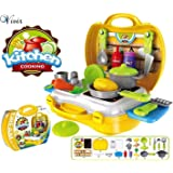 Vivir™ Cooking Pretend Play Kitchen Set Toys for Kids - 26 Pieces ( for 3+ Years Kids)