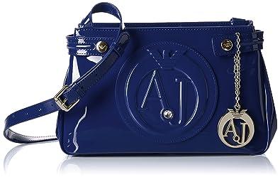 57d79f2ece7c Armani Jeans 922527CC855, Sacs bandoulière femme - Bleu - Blau (BLU 00335),