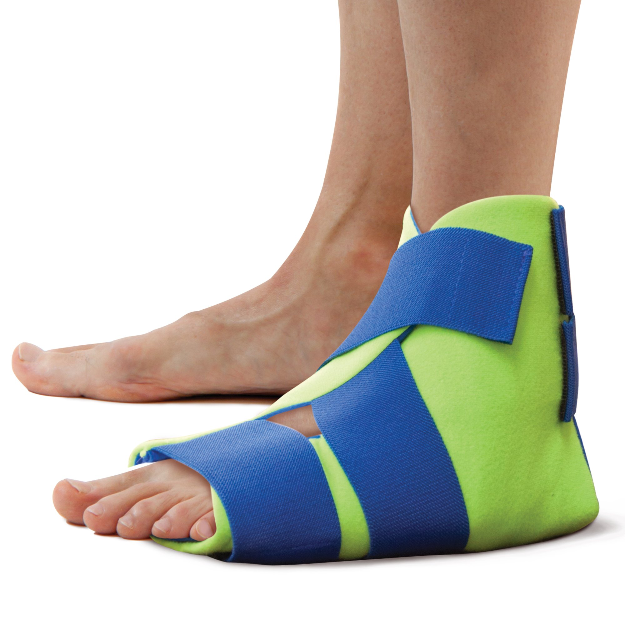 Polar Ice Foot and Ankle Wrap, Cold Therapy Ice Pack, Universal Size (Color May Vary) by Brownmed