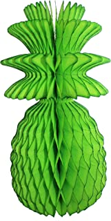 product image for 3-Pack Solid Colored 13 Inch Honeycomb Pineapple Party Decoration (Lime)