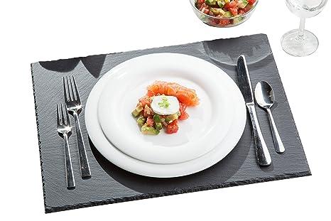 Piatti Cucina In Ardesia : Piatti ardesia tivoli set da cm sottobicchieri e