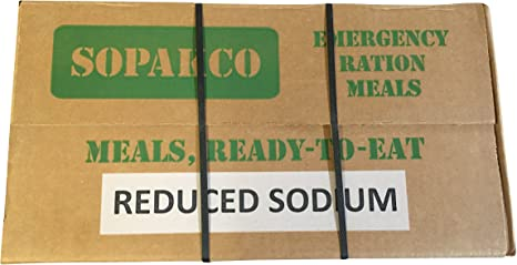 Sopakco MRE Meals Ready To Eat Case For Survival And Emergency ...