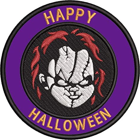 HALLOWEEN WITCH BROOMSTICK   Embroidered Sew Iron On Cloth Patch Badge APPLIQUE
