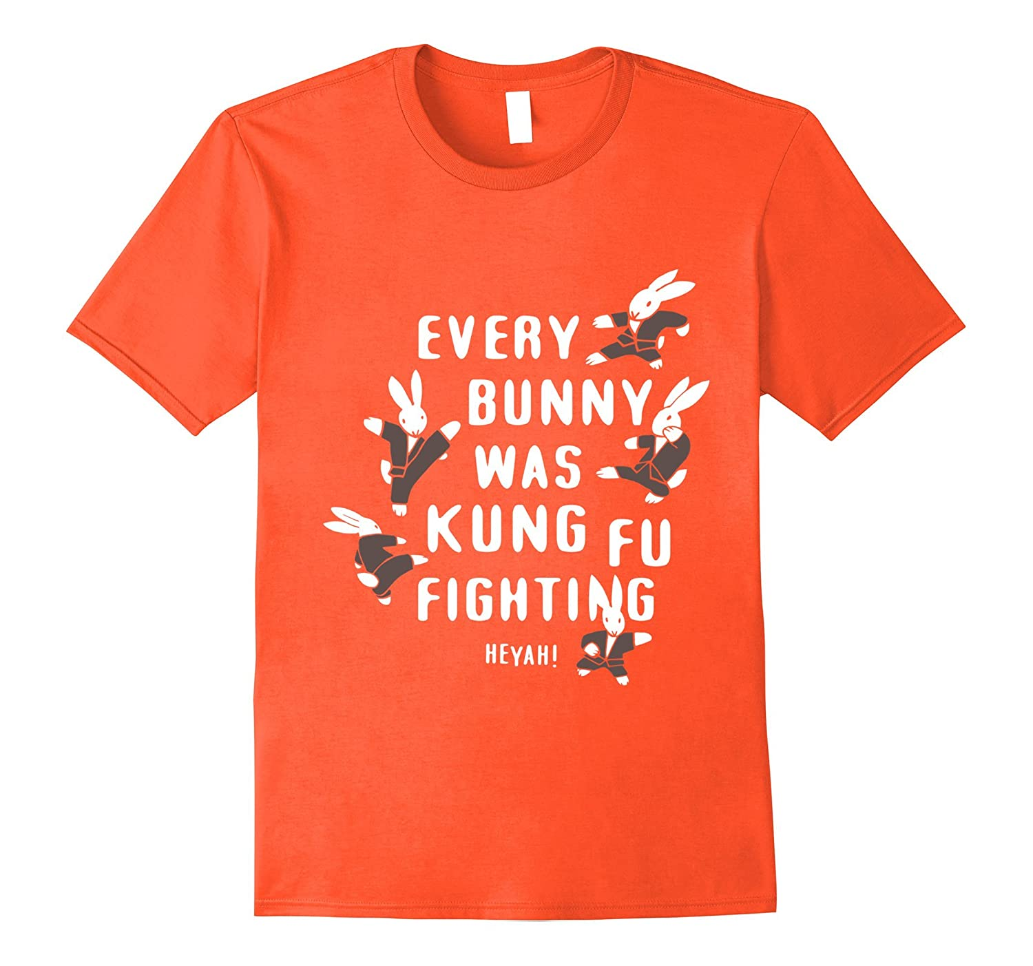 156a0155a Every Bunny Was Kung Fu Fighting T-Shirt-TH - TEEHELEN