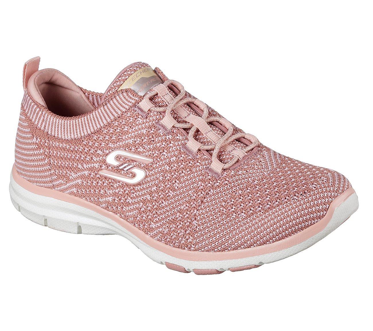 Skechers Sport Women's Galaxies Fashion Sneaker B074PX3245 7.5 B(M) US|Rose