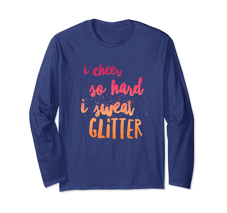 Amazon.com  I cheer so hard I sweat glitter teens funny gift t-shirt   Clothing 6a7390ac1447