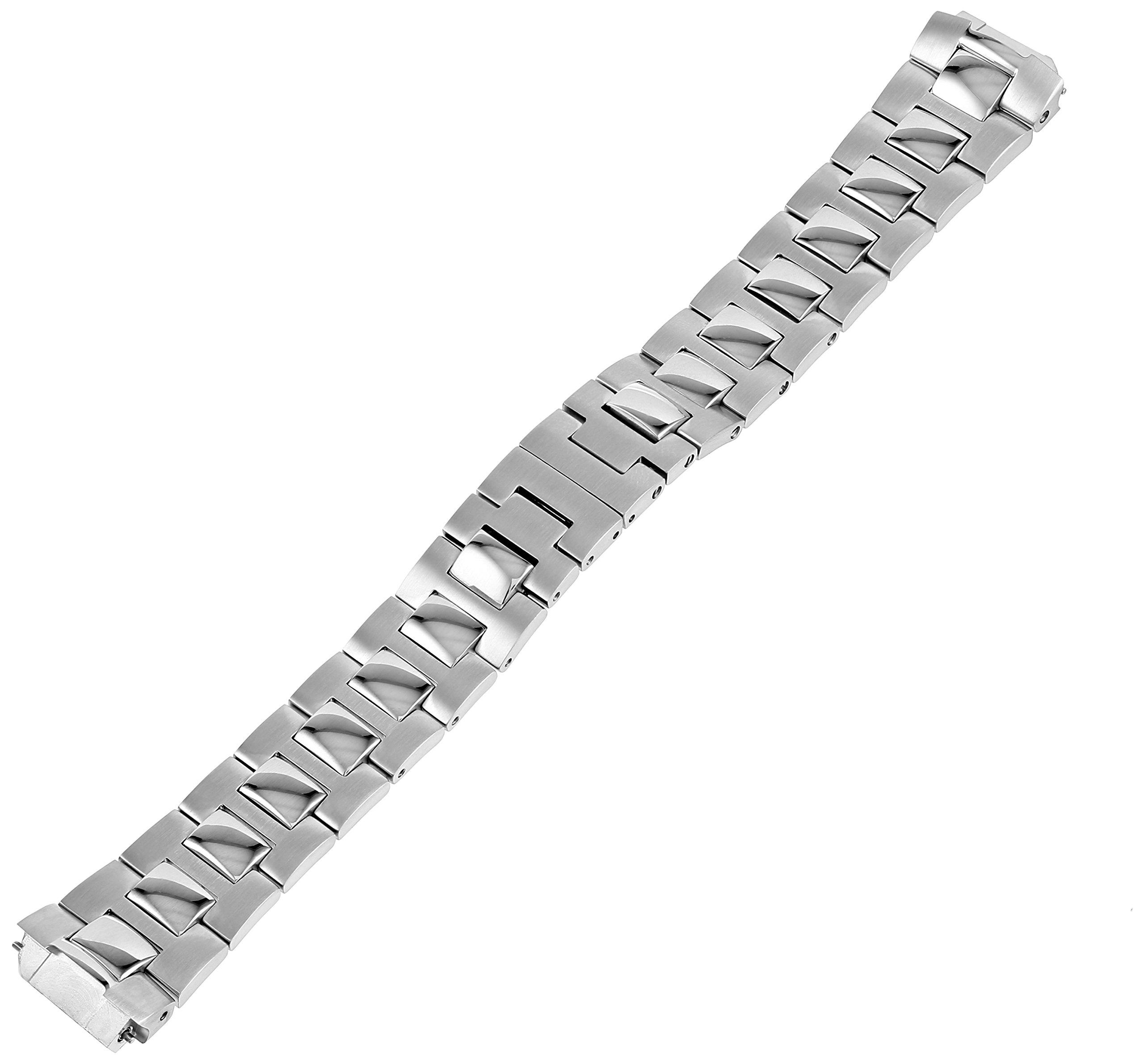 Philip Stein 1-SS3 18mm Stainless Steel Silver Watch Bracelet by Philip Stein (Image #1)