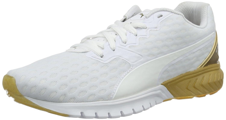 Puma Ignite Dual Wn's, Zapatillas de Running para Mujer 37.5 EU|Blanco / Oro