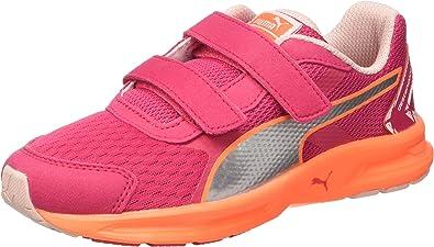 Puma Descendant V3 V Kids - Zapatillas de Running para niño Rosa Rosa 12: Amazon.es: Zapatos y complementos