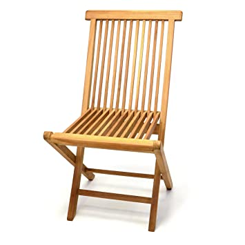 Gartenstühle holz  Amazon.de: DIVERO Klappstuhl Teakstuhl Gartenstuhl Teak Holz Stuhl ...