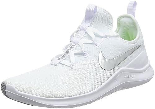 the latest ea3cb c0cf3 Nike Wmns Free TR 8, Zapatillas para Mujer, Blanco (White/Metallic Silver  100), 36 EU: Amazon.es: Zapatos y complementos