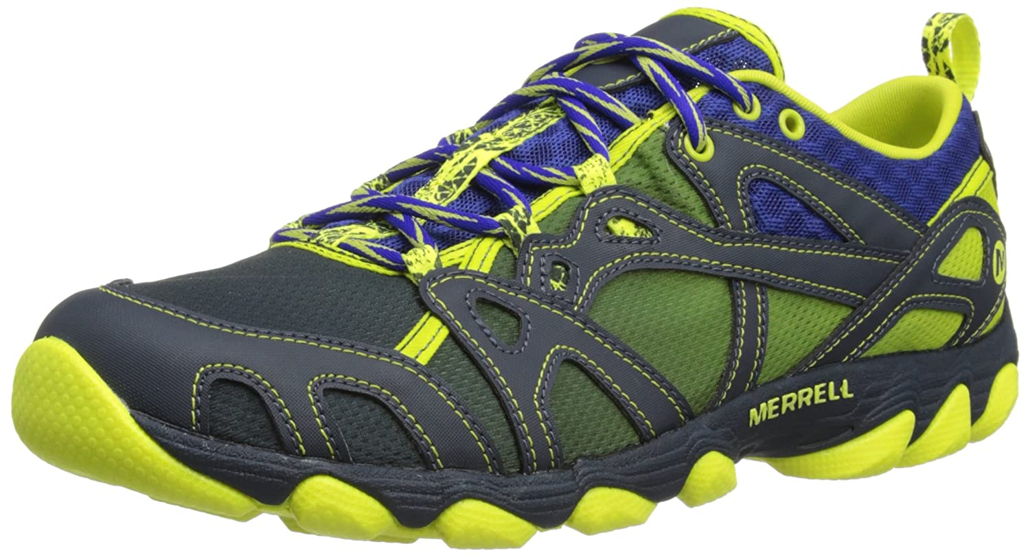 Merrell Hurricane Lace Mens Water Sneakers / Shoes - Blue [並行輸入品] 25.5 cm ブルー B018Z7P7UC