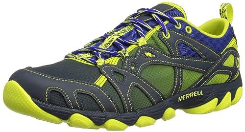 Merrell Hurricane Lace - Zapatillas Para El Agua de cuero hombre, Amarillo - yellow,