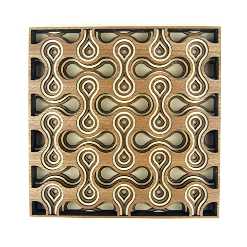 Amazon Com 3d Wood Wall Art Cell Division By The Crafty Smiths