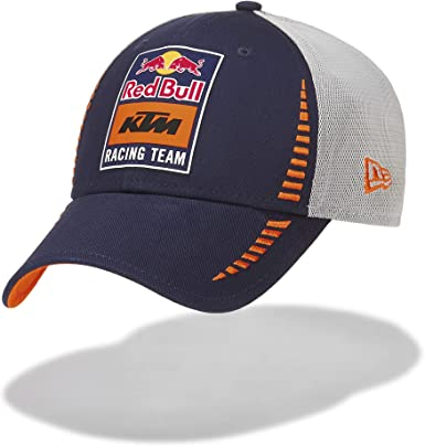 Red Bull KTM New Era 9Forty Trucker Gorra, Gris Unisexo Talla ...