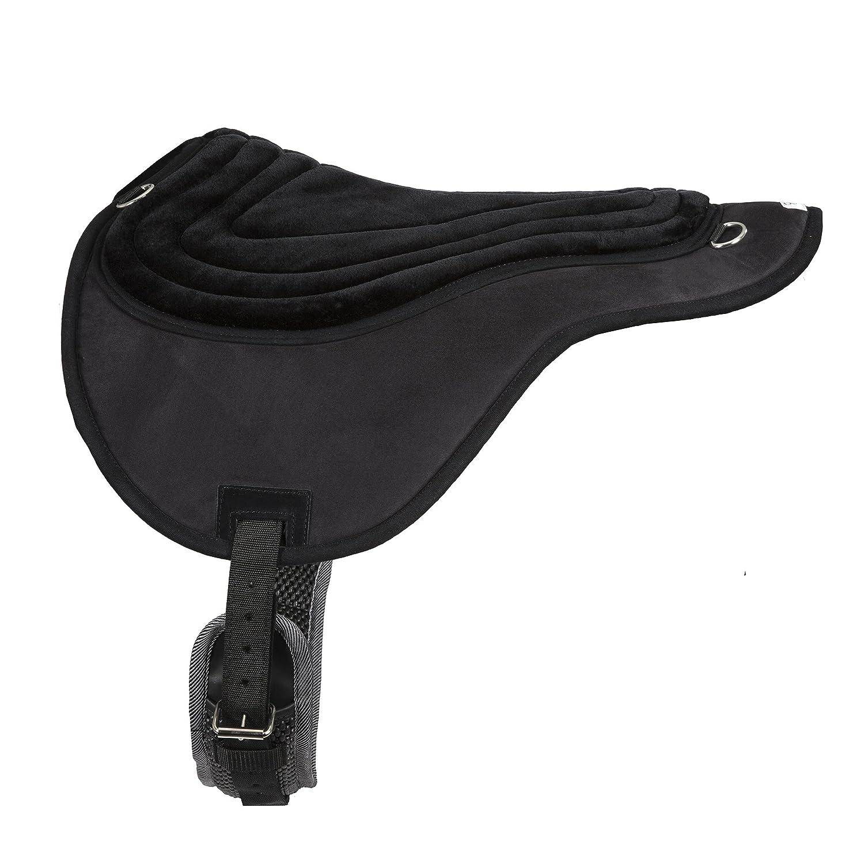 Black Intrepid Comfort Plus Bareback Saddle Pad