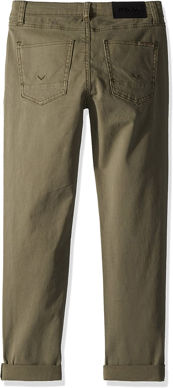 HUDSON Boys Slim Leg Double Roll Cuff Pant