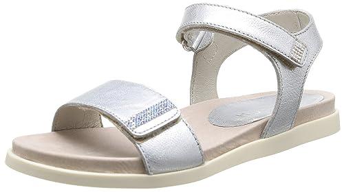 dc54c194a Unisa Padua Sm - Sandalias deportivas de piel de borrego para niña Plata  Argent (Silver) 29: Amazon.es: Zapatos y complementos