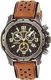 Timex - TW4B0150- Montre Homme - Quartz - Analogique - Eclairage - Chronomètre - Bracelet cuir gris