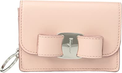 a37b50955 Salvatore Ferragamo Women's Vara Classic Fold-Over Card Case Bonbon One Size