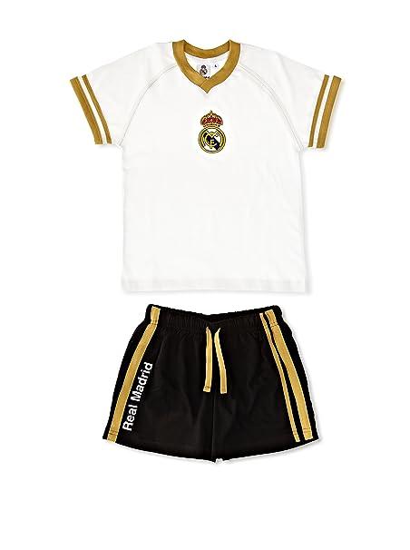 Licencias Pijama Niño Real Madrid Blanco/Negro 4 años (104 cm)