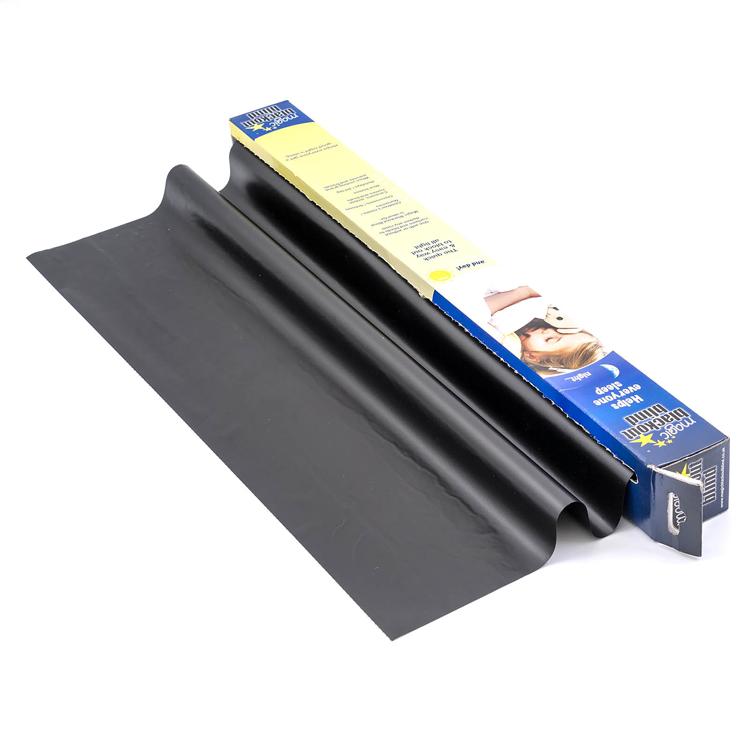 Magic Whiteboard Products Static Cling Dry Erase Sheet Home Office Bedroom BLACKOUT BLIND 100% 23.5'' x 31.5'' 10 Perforated Sheets BLACK (MW4110)